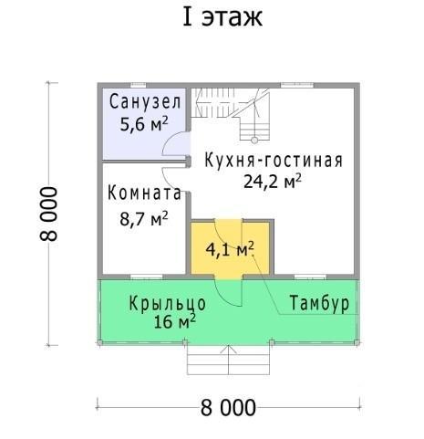 """Полуторный дом """"Брянск"""""""