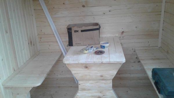 Мобильная баня 5х2,3м с крыльцом