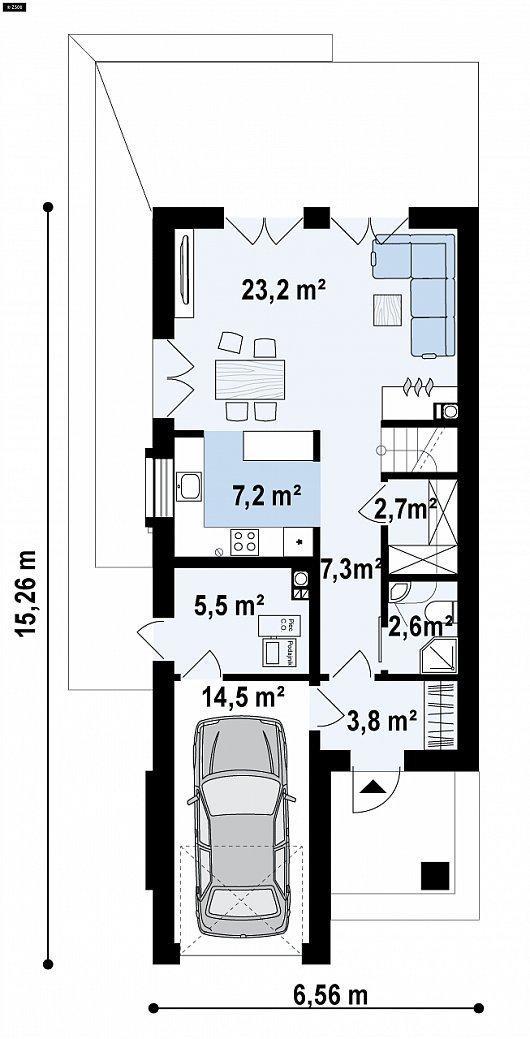 """Двухэтажный дом """"Лонгфорд"""""""