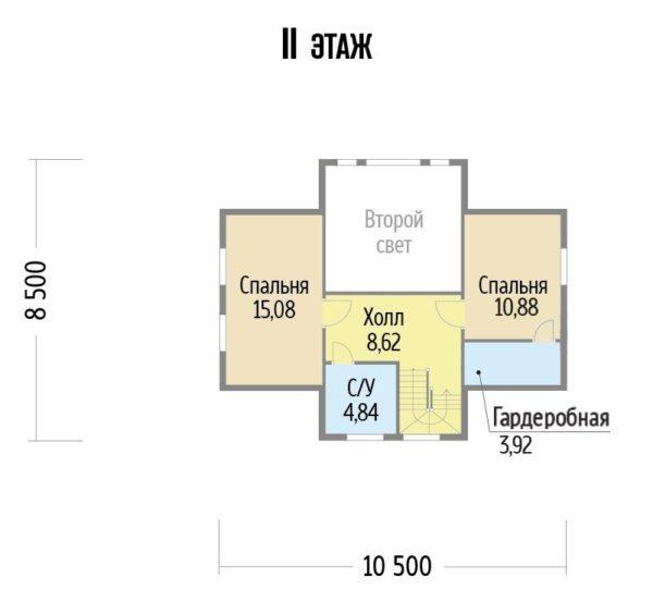 "Двухэтажный дом ""Манхэттен"""