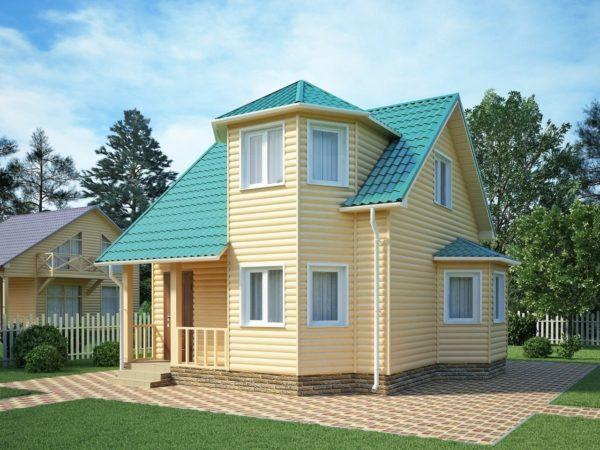 """Двухэтажный дом """"Митилини"""""""