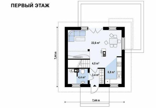 """Полуторный дом """"Осло"""""""