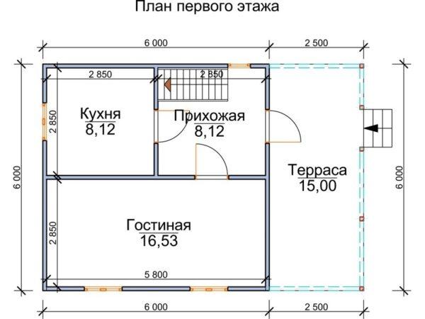 """Полуторный дом """"Тулиара"""""""