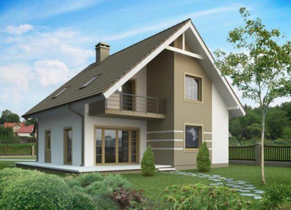 """vesteros 1 600x432 - Двухэтажный дом """"Вестерос"""""""